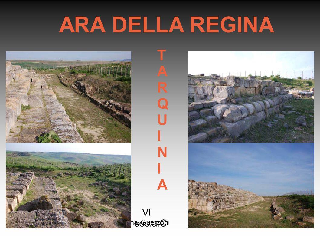 Rosanna Guerzoni ARA DELLA REGINA TARQUINIATARQUINIA VI sec.a.C