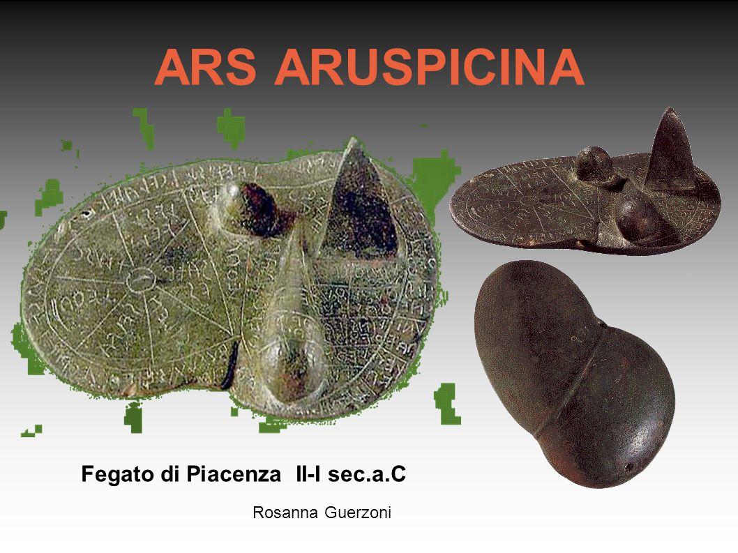 Rosanna Guerzoni Fegato di Piacenza II-I sec.a.C ARS ARUSPICINA