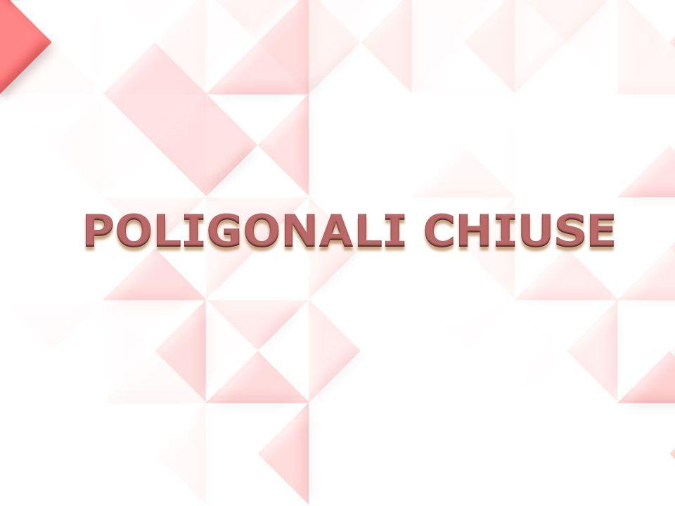 LE POLIGONALI CHIUSE Le poligonali chiuse sono le più usate nei rilievi di piccola entità.