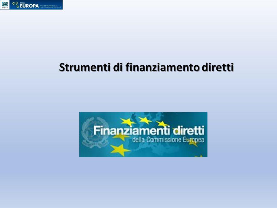 Strumenti di finanziamento diretti