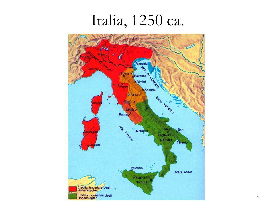 Italia, 1250 ca. 8