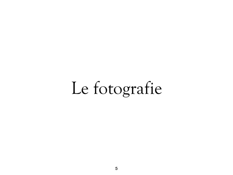 5 Le fotografie 5