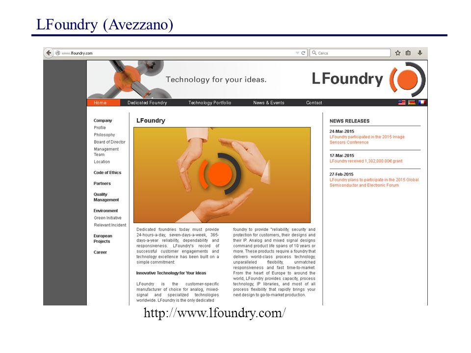 LFoundry (Avezzano) http://www.lfoundry.com/