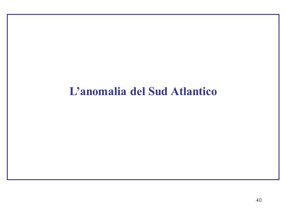 40 L'anomalia del Sud Atlantico