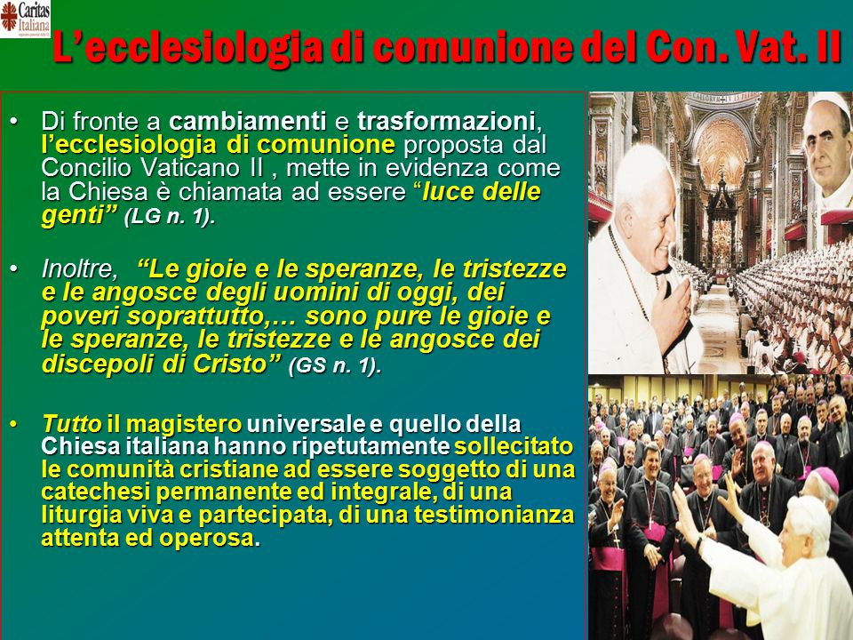 7 L'ecclesiologia di comunione del Con.Vat.