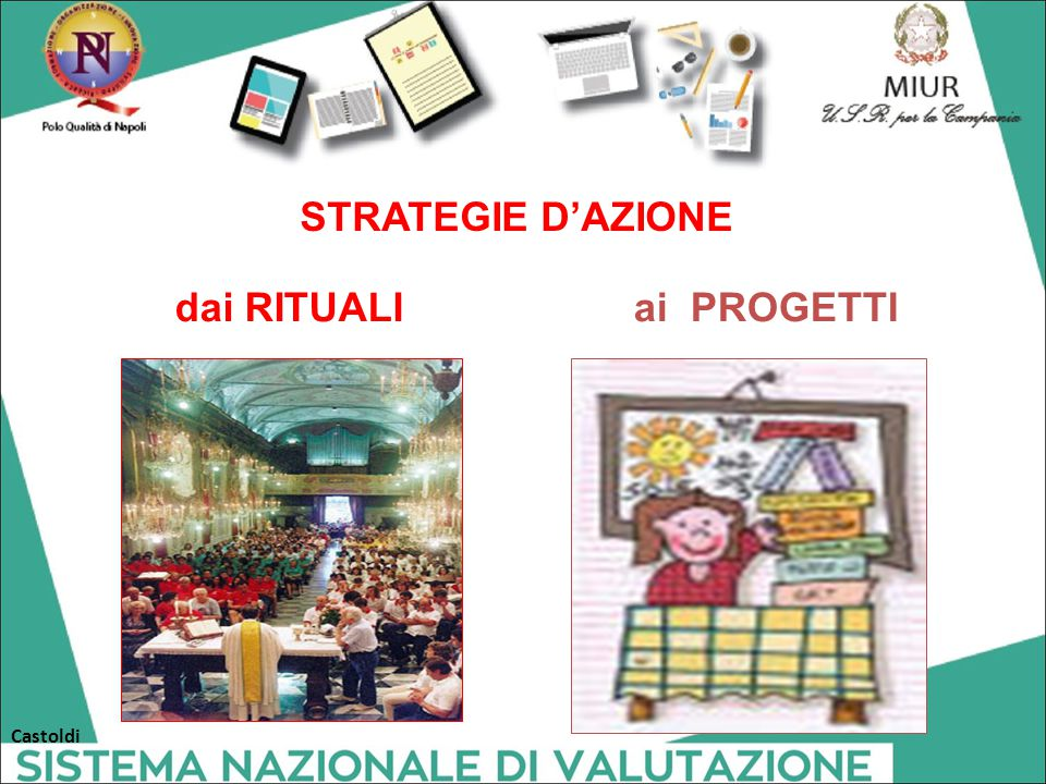 dai RITUALIai PROGETTI STRATEGIE D'AZIONE Castoldi