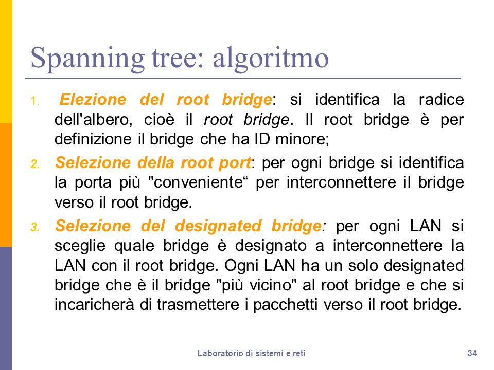 34 Spanning tree: algoritmo 1.