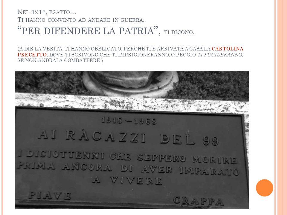 S EI NATO / A NEL COMUNE DI BASSANO DEL GRAPPA, CITTÀ MEDAGLIA D ' ORO AL VALOR MILITARE .
