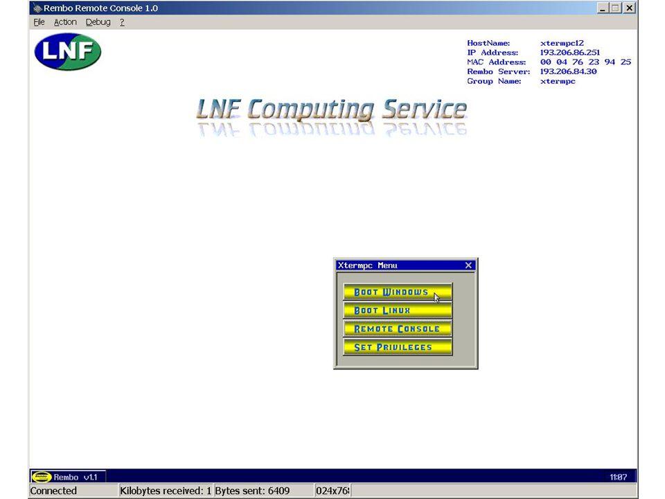 7 maggio 2002Servizio di Calcolo dei LNF38