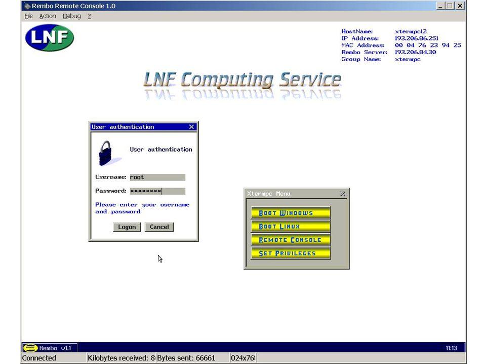 7 maggio 2002Servizio di Calcolo dei LNF39