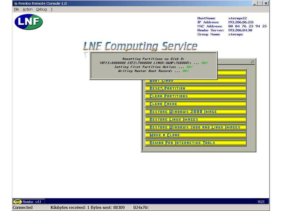7 maggio 2002Servizio di Calcolo dei LNF41