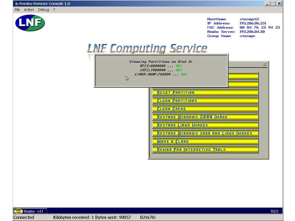 7 maggio 2002Servizio di Calcolo dei LNF42