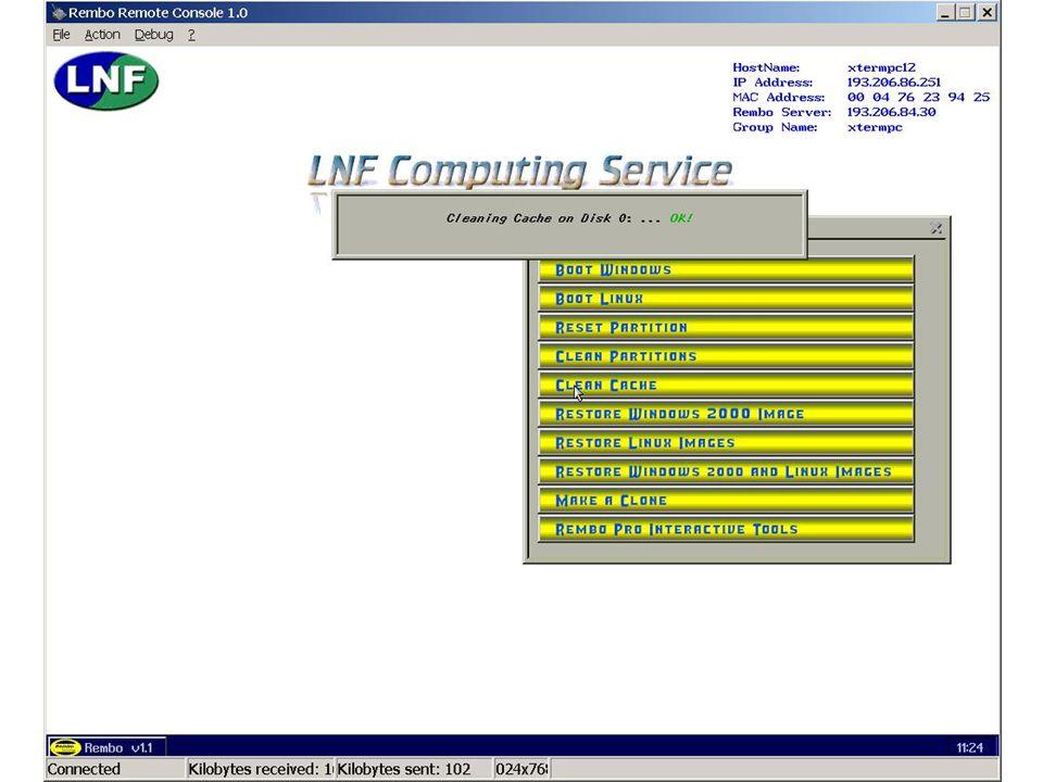 7 maggio 2002Servizio di Calcolo dei LNF43