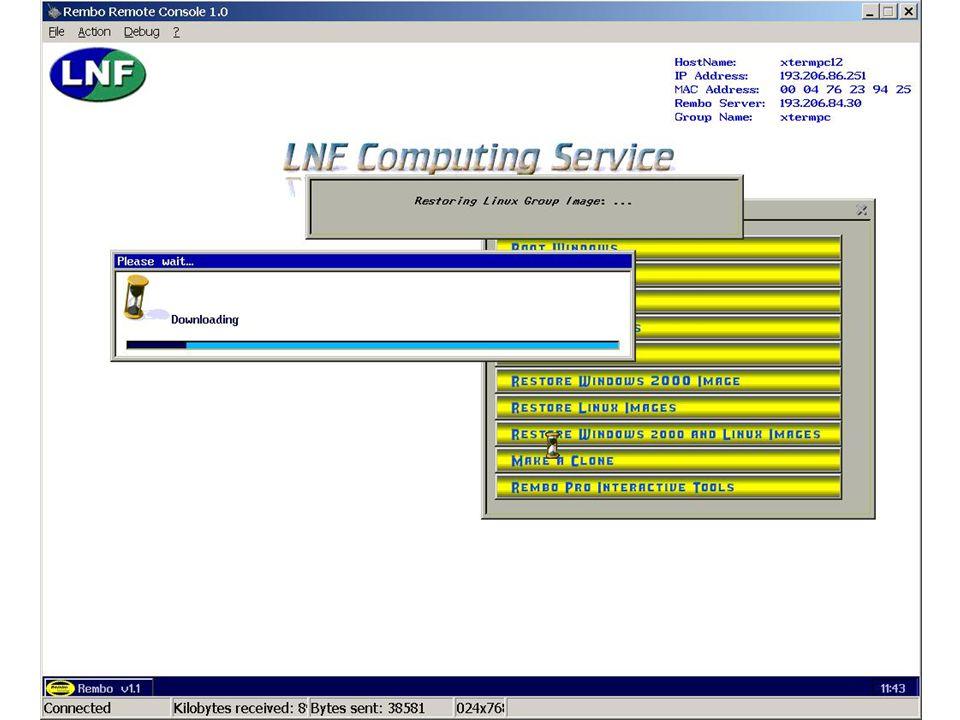 7 maggio 2002Servizio di Calcolo dei LNF45