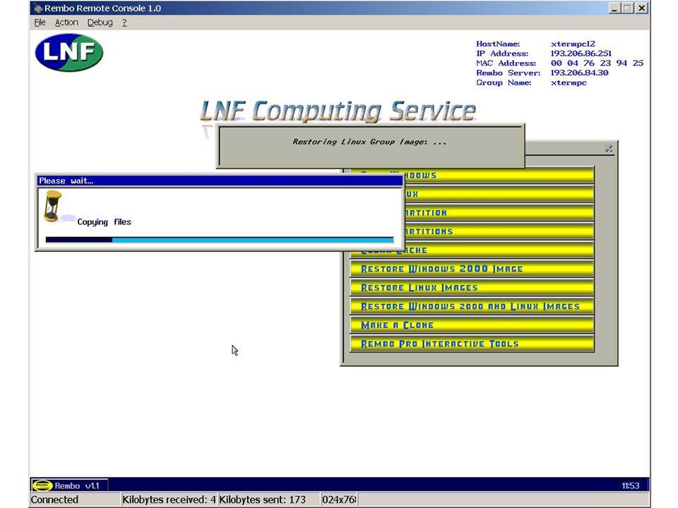 7 maggio 2002Servizio di Calcolo dei LNF46