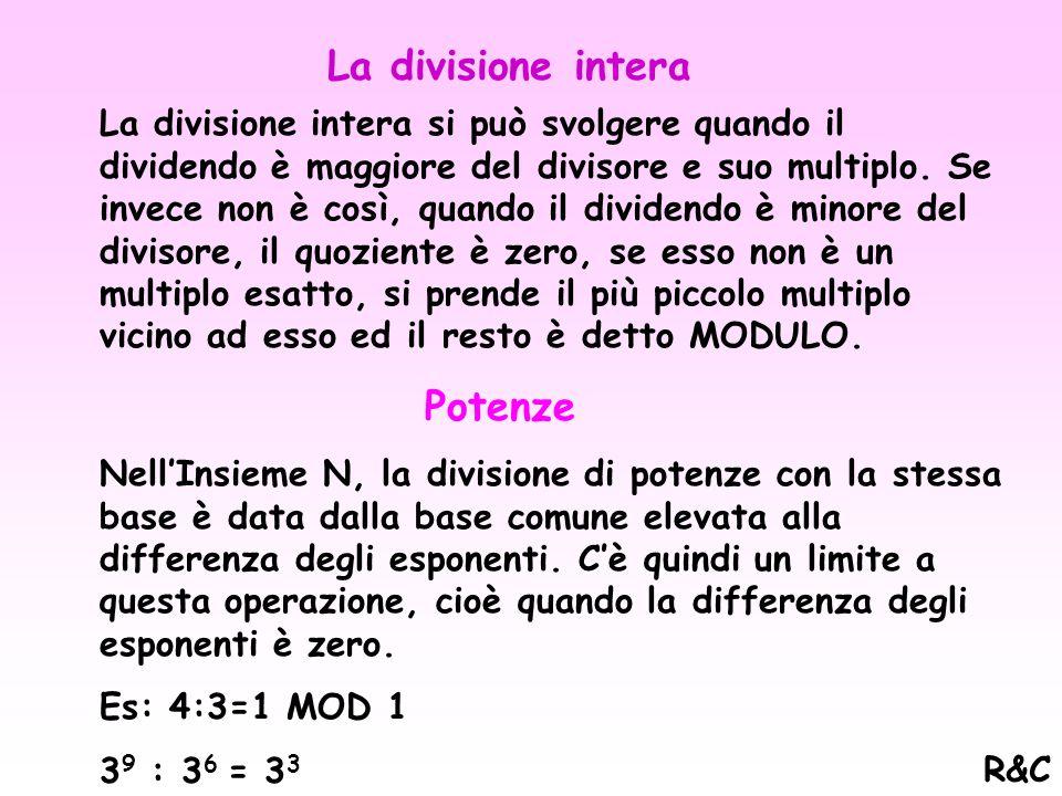 7 3 X 2 3 = 14 3 Potenze dei numeri naturali 1. 3 x 4 2 2 (3x4) 2 = Prodotto di potenze con lo stesso esponente e base diversa 2. 3 2 X 3 3 = 3 5 Prod