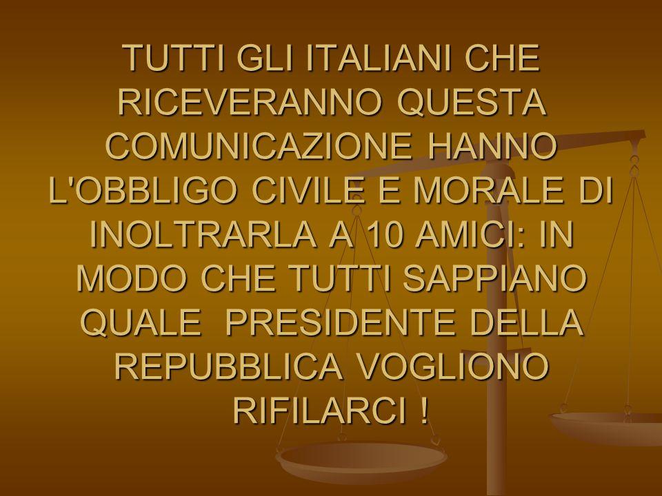 Della sua competenza l'Italia ne ha abbastanza….. e avanza.