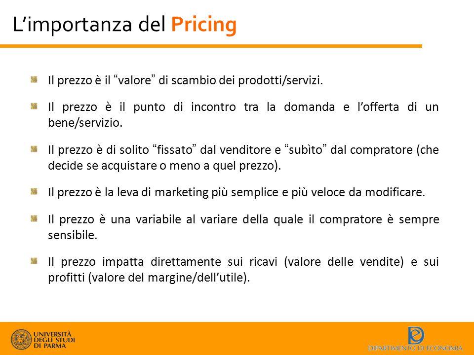 """Il prezzo è il """"valore"""" di scambio dei prodotti/servizi. Il prezzo è il punto di incontro tra la domanda e l'offerta di un bene/servizio. Il prezzo è"""