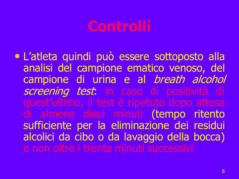 16 Le leggi antidoping in Italia In particolare, furono oggetto di valutazione il tentativo doloso di aumentare artificialmente la ″performance″, l'illecito sportivo in termini di ″slealtà″, la pericolosità farmaco-tossicologica.