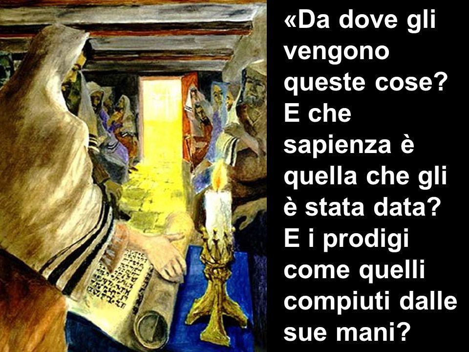 Non è costui il falegname, il figlio di Maria, il fratello di Giacomo, di Ioses, di Giuda e di Simone.