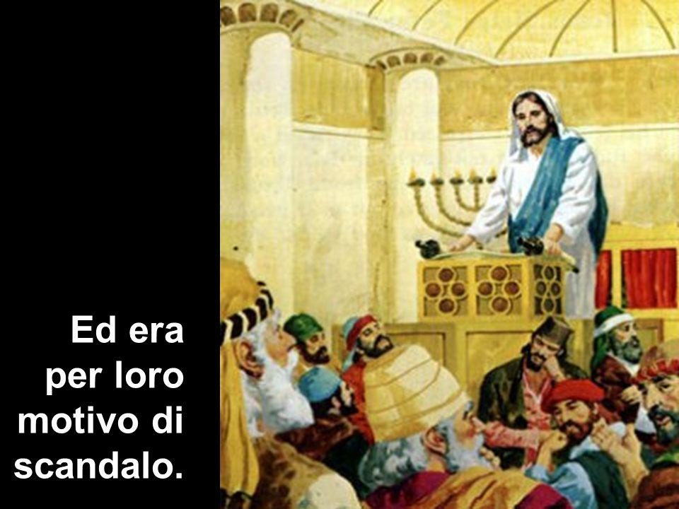 È lo sconcerto di chi non riesce a mettere insieme una sapienza e una potenza che si reputa non possano venire altro che da Dio con le modeste e umili origini di colui che è conosciuto come «il falegname, il figlio di Maria» (v.