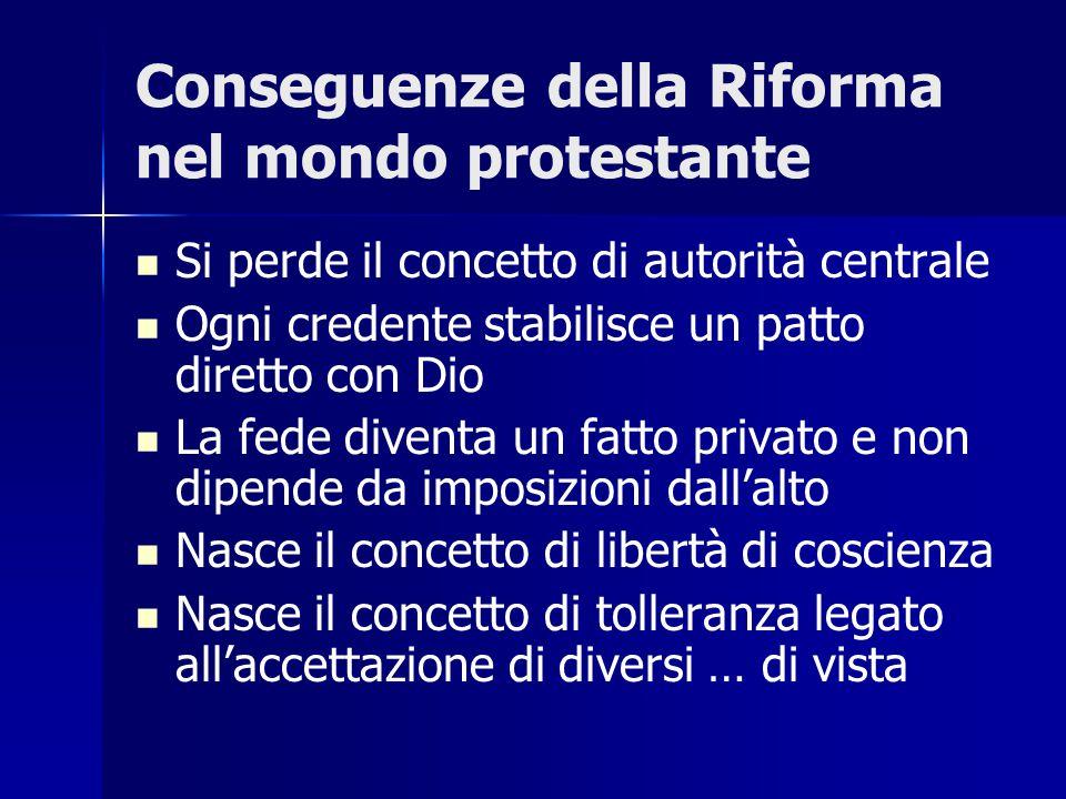 Diffusione del Protestantesimo