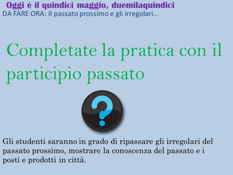 Il dolce Lavorate con un compagno SWBAT review sapere and conoscere when to introduce the clothing unit, label the clothing in a storefront.