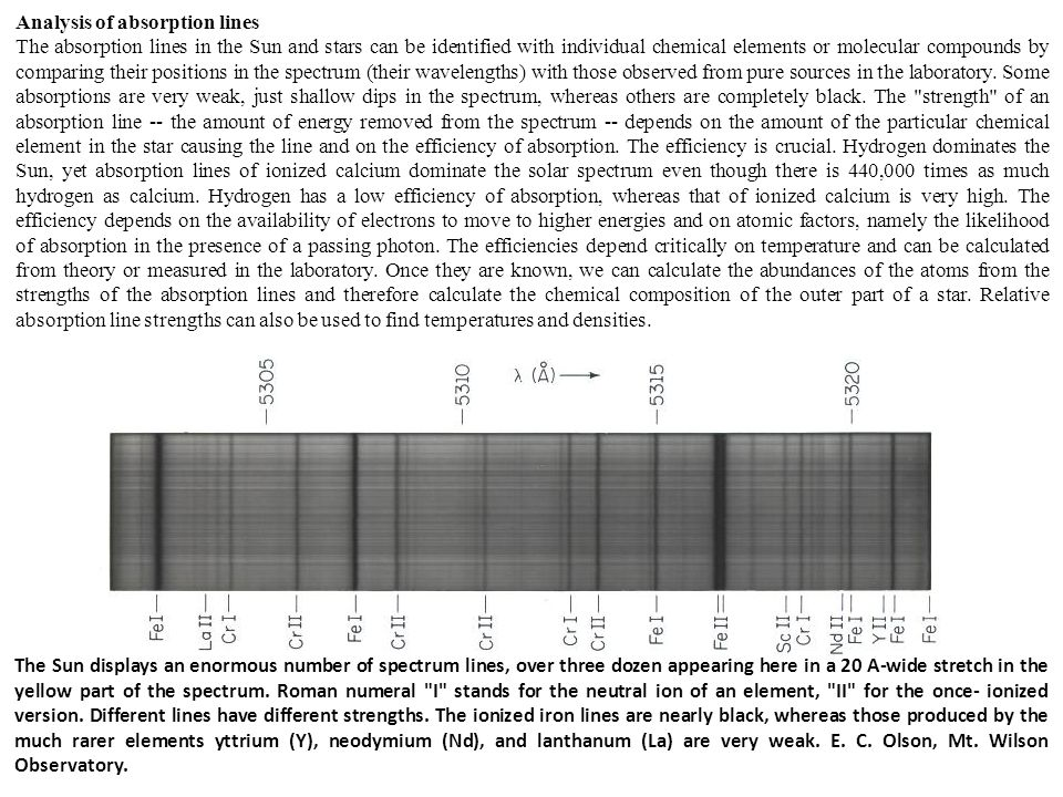 La sorgente emette righe molto strette (~ 10 -3 nm) ed intense dell'elemento che deve essere determinato (ampiezza linea d'assorbimento ~ 10 -2 nm).