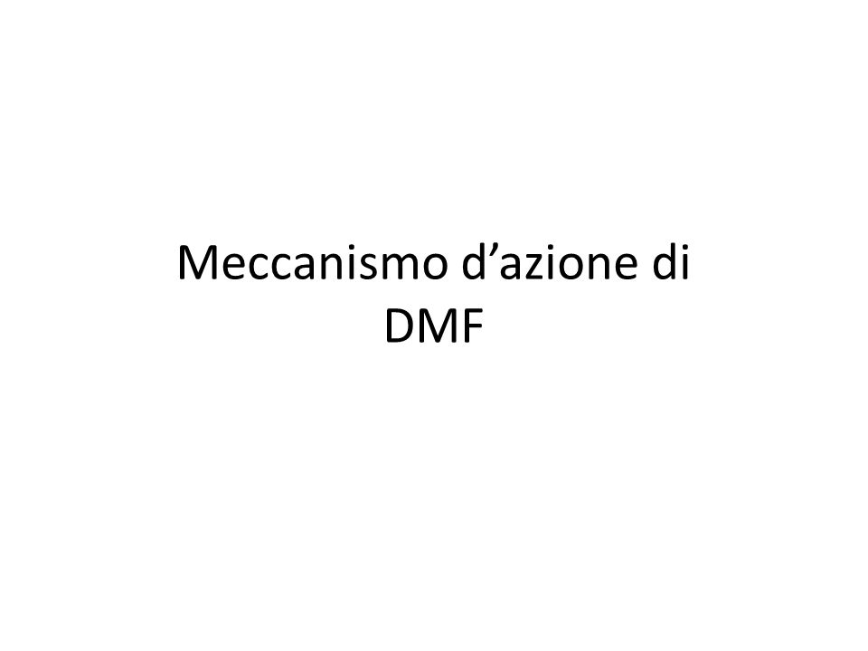 Nrf2 Pathway: possibile meccanismo d'azione di DMF Nrf2=nuclear factor (erythroid-derived 2)-like 2; DMF=dimethyl fumarate; MOA=mechanism of action; MMF=monomethyl fumarate; Keap1=kelch-like ECH-associated protein 1; ARE=antioxidant response element.