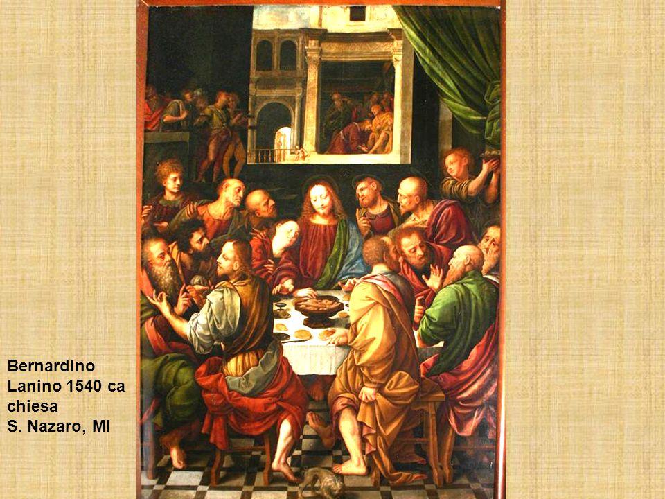 Bernardino Lanino 1540 ca chiesa S. Nazaro, MI