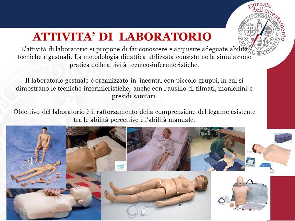 L'attività di laboratorio si propone di far conoscere e acquisire adeguate abilità tecniche e gestuali. La metodologia didattica utilizzata consiste n