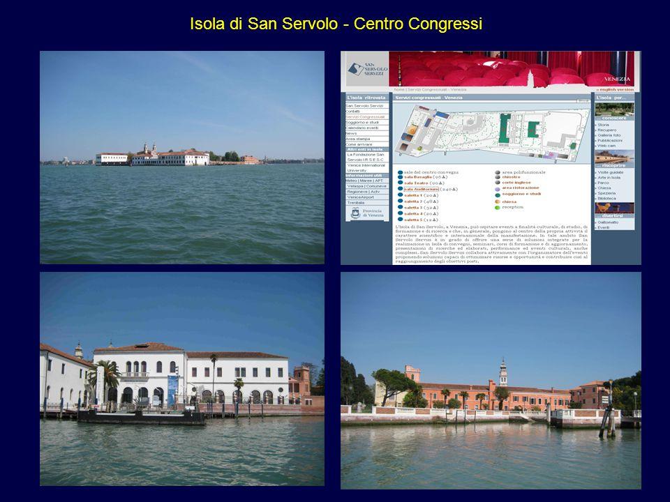 Isola di San Servolo - Centro Congressi