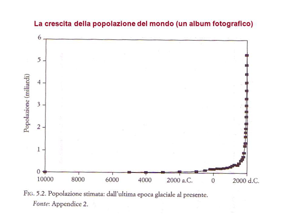 La crescita della popolazione del mondo (un album fotografico)