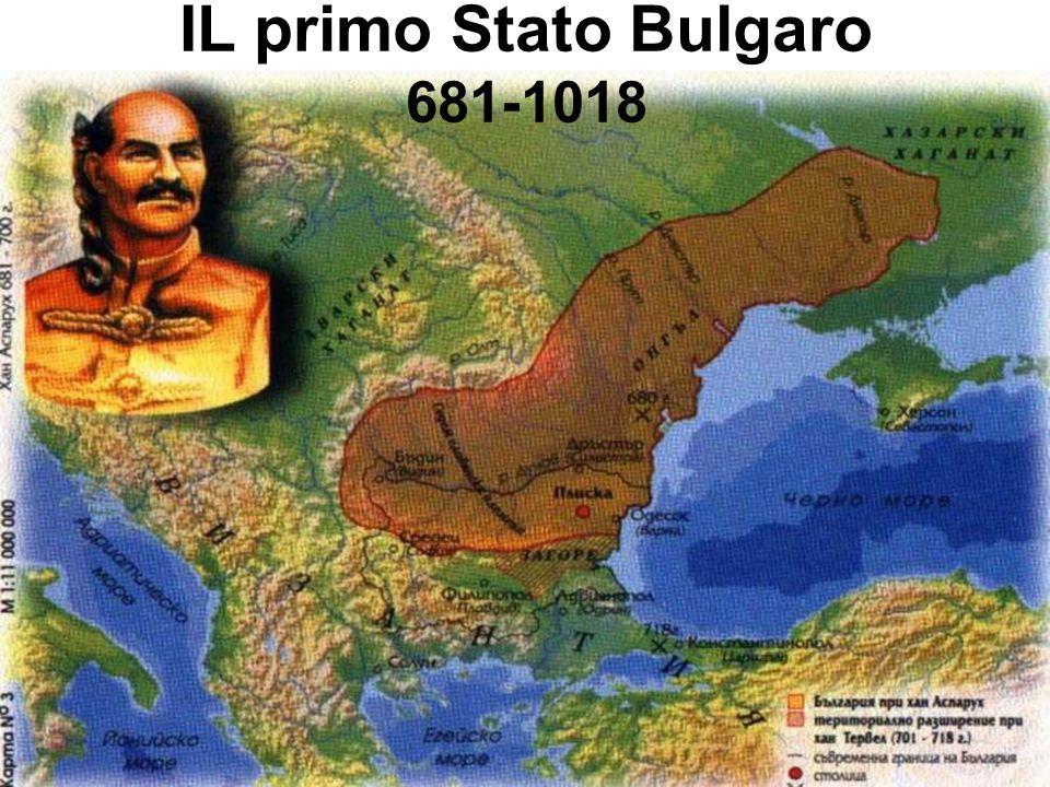IL primo Stato Bulgaro 681-1018