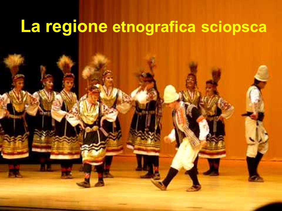 La regione etnografica sciopsca