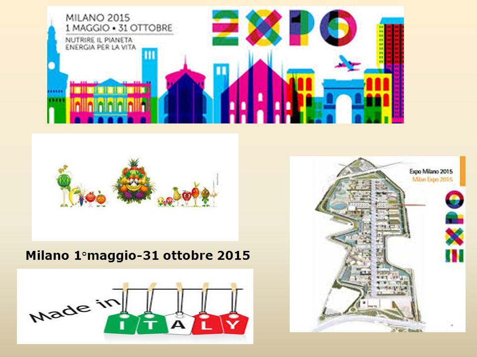 Milano 1°maggio-31 ottobre 2015