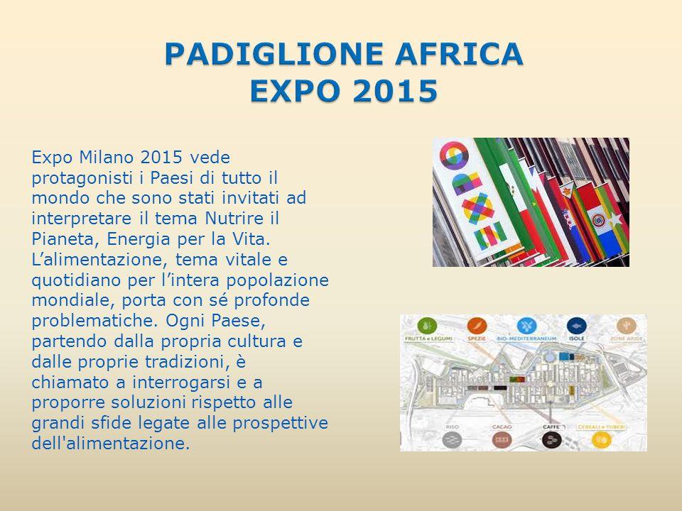 Expo Milano 2015 vede protagonisti i Paesi di tutto il mondo che sono stati invitati ad interpretare il tema Nutrire il Pianeta, Energia per la Vita.