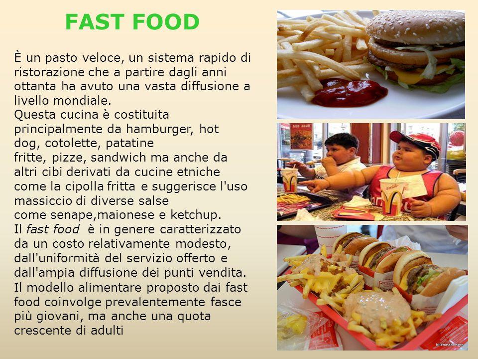 È un pasto veloce, un sistema rapido di ristorazione che a partire dagli anni ottanta ha avuto una vasta diffusione a livello mondiale. Questa cucina