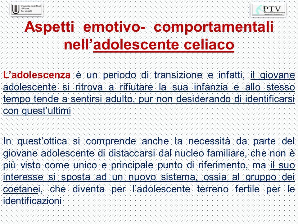 L'adolescenza è un periodo di transizione e infatti, il giovane adolescente si ritrova a rifiutare la sua infanzia e allo stesso tempo tende a sentirs