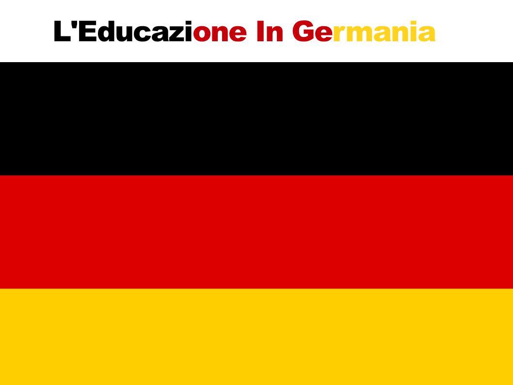 L Educazione In Germania