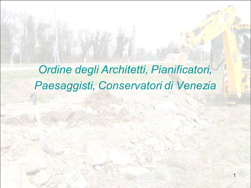 1 Ordine degli Architetti, Pianificatori, Paesaggisti, Conservatori di Venezia