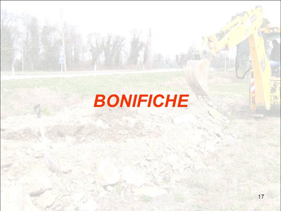 17 BONIFICHE