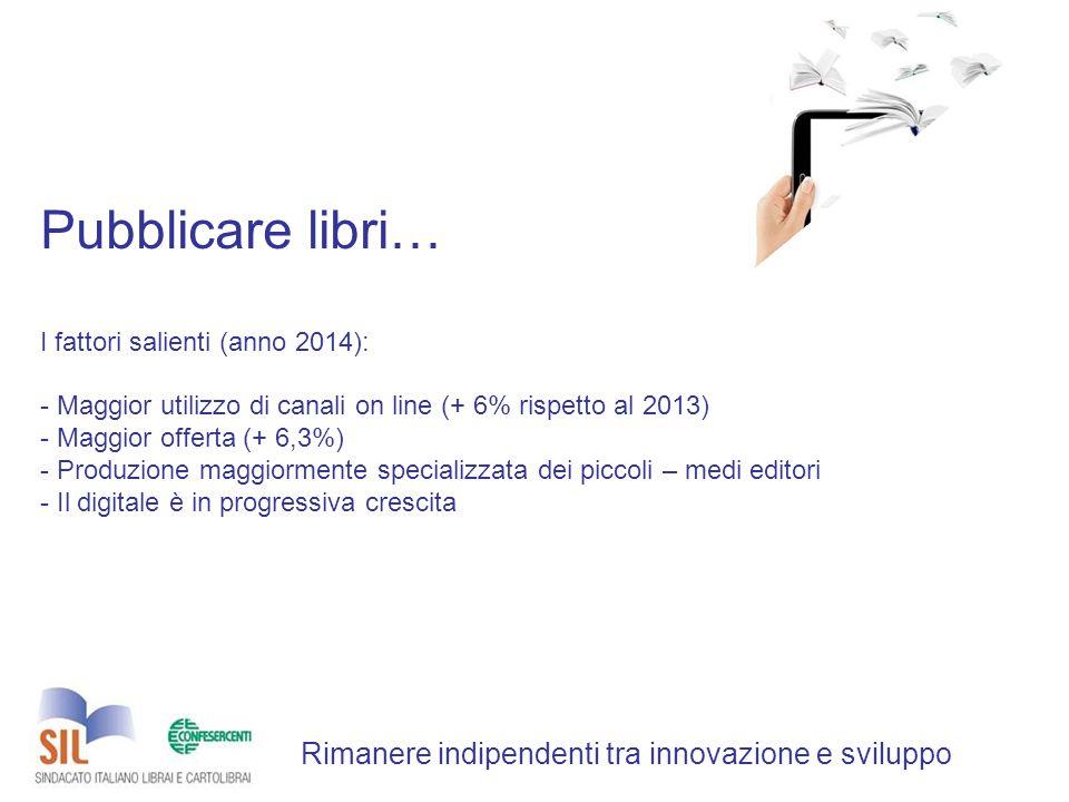 Ripartizione % imprese per struttura d'impresa Rimanere indipendenti tra innovazione e sviluppo
