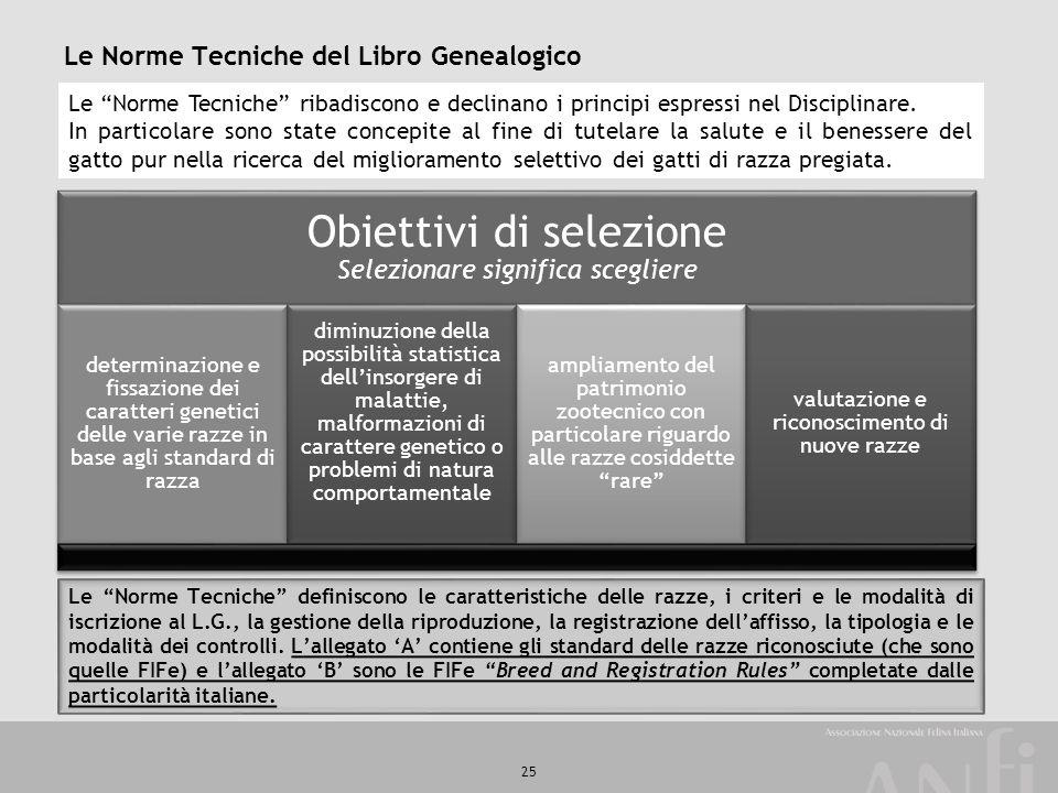 """25 Le Norme Tecniche del Libro Genealogico Le """"Norme Tecniche"""" ribadiscono e declinano i principi espressi nel Disciplinare. In particolare sono state"""