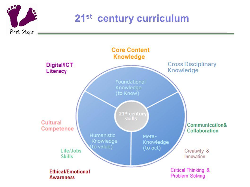 21 st century curriculum