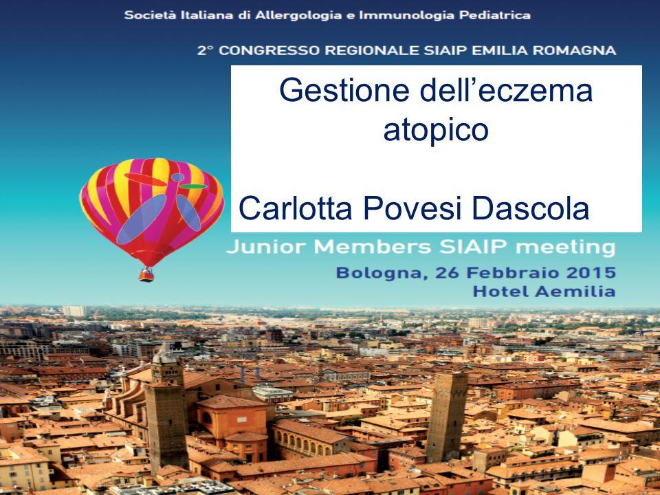 Gestione dell'eczema atopico Carlotta Povesi Dascola