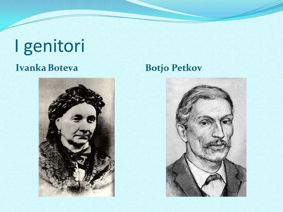Biografia 1854 suo padre- Botjo Petkov entra in conflitto con il comune di Kalofer a causa del suo stipendio e tutta la famiglia si trasferisce nella città di Karlovo.