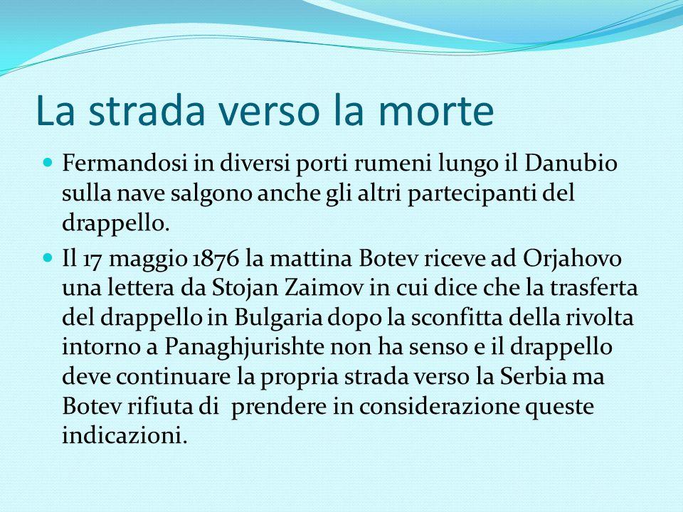 La strada verso la morte Fermandosi in diversi porti rumeni lungo il Danubio sulla nave salgono anche gli altri partecipanti del drappello. Il 17 magg