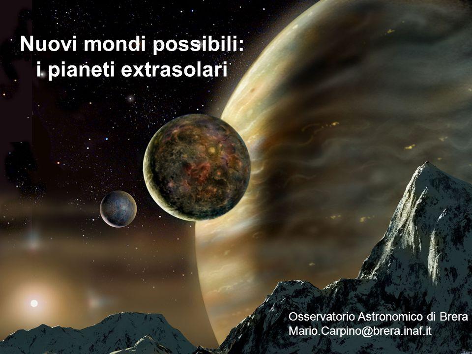 Pianeta 1RXS1609 b Distanza: 500 anni luce Scoperta: settembre 2008 Conferma: luglio 2010 Massa: 14 M Giove Raggio: 1.7 R Giove Raggio orbitale: 330 AU
