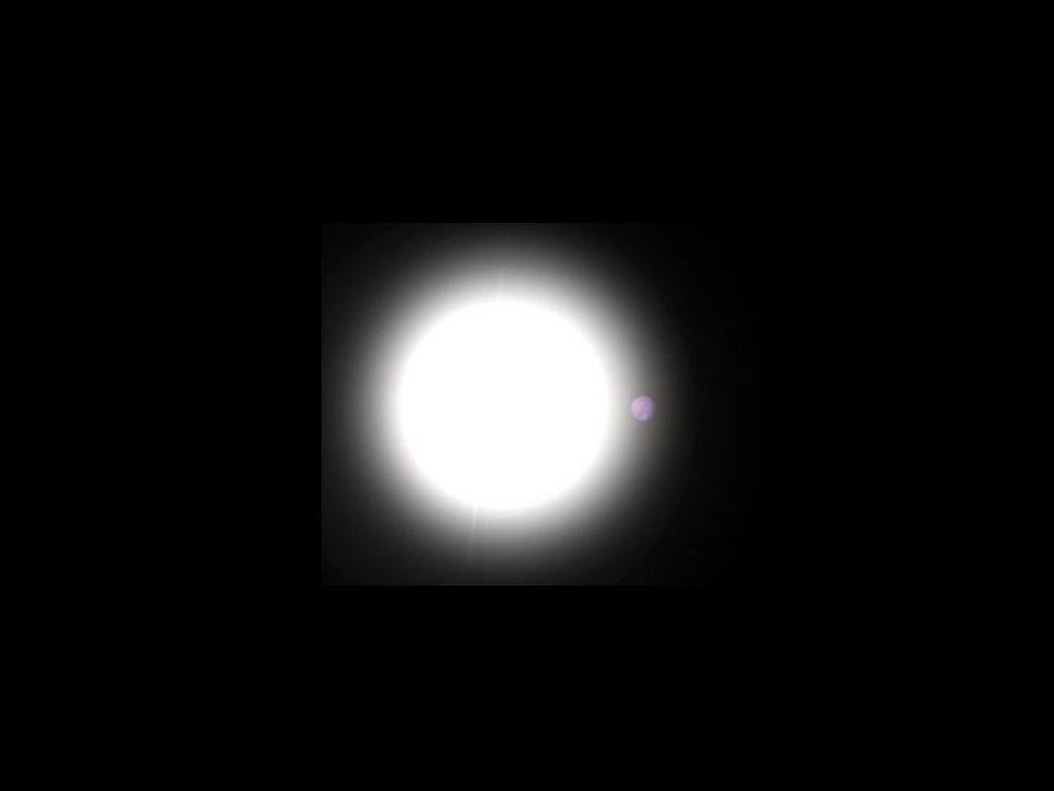 densità = 1/3 dell acqua Sistema HD209458 M = 0.71 M Giove a = 0.045 AU periodo = 3.5 d R = 1.38 R Giove